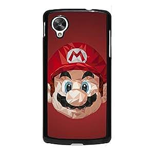 Games Super Mario Phone Case for Google Nexus 5 Visual Design Phone Case Mario Series Case