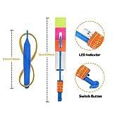 Habelyi 50pcs Amazing Led Light Arrow Rocket