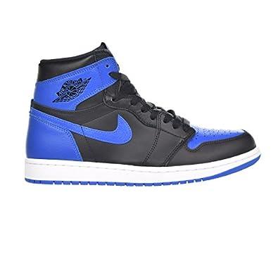 Jordan 1 Retro High OG Men\u0027s Shoes Black/Royal/White 555088-007