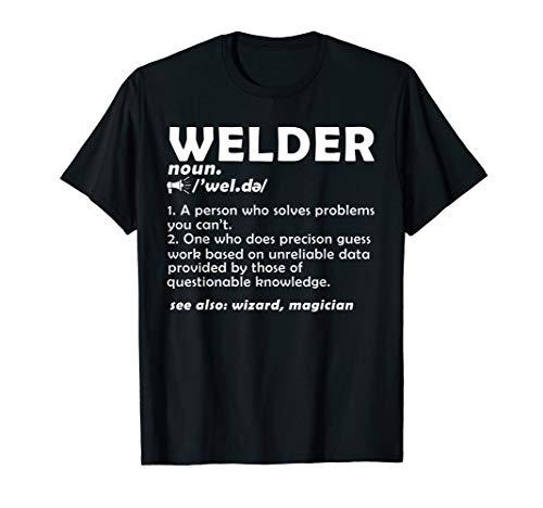 - Cool Welding Gift Funny Noun Welder Definition T Shirt