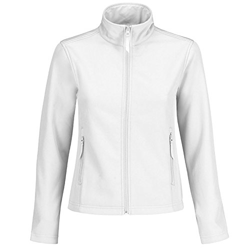 B&C Collection - Chaqueta - para mujer White/ White Lining