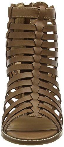 Dorothy Perkins Gladiator High Heel - Sandalias con tacón Mujer Marrón (Brown)