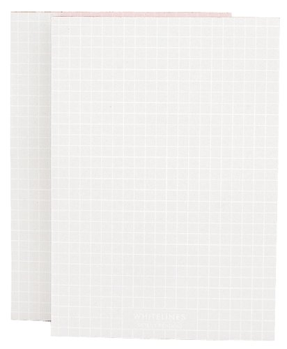 Whitelines Orange Glue A6 Squared Notepad (2 pack): Supporting your ideas