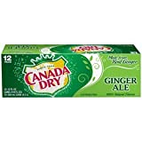 7-UP Canada Dry Ginger Ale, 12-Ounce (Pack of 24)