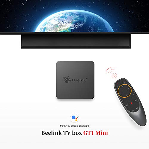 Beelink GT1 Mini TV Box Android 8.1 4GB RAM 32GB ROM with S905X2 Quad-core ARM Cortex-A53 HDMI 2.0 4K Output Streaming Media Players with 2.4G Wireless Voice Remote Control