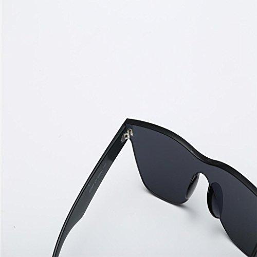 forme de en Lunettes de Black soleil UV de intégrées soleil soleil de Lunettes Candy Mode coeur Lunettes Femmes YUYOUG q8wz4qY