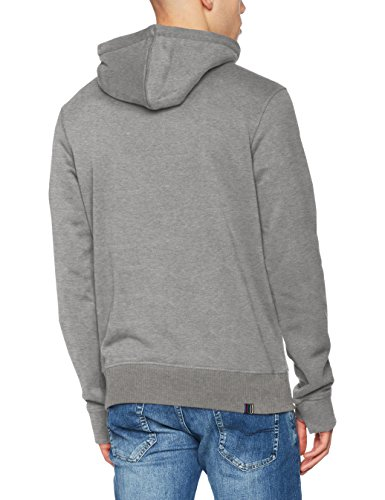 Marl Con Corp Sweat Gris Grey winter Hombre Capucha Core Para Sudadera Bench Ma1054 Hoodie 7BaXRq