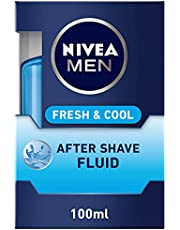 NIVEA MEN Fresh & Cool After Shave Fluid, Mint Extracts, 100ml