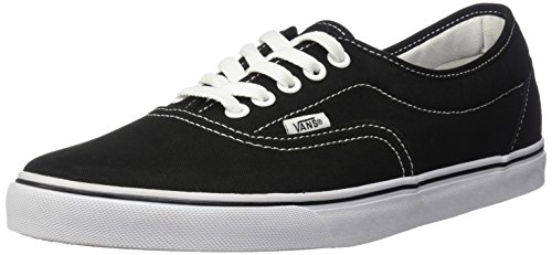 Vans Authentic, Zapatillas Unisex Adulto Negro/Blanco