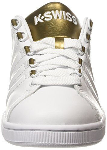 swiss Weiß 194 gold white Basses Femme Lozan Sneakers K Blanc Iii ZUxFURwq