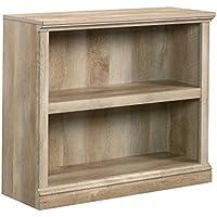 Sauder 420180 2-Shelf Bookcase 2, Lintel Oak