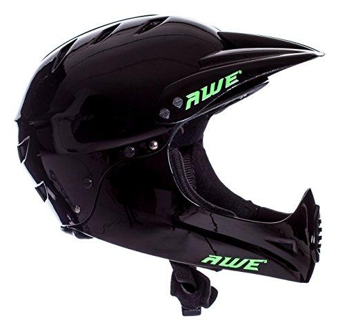 AWE FREE 5 YEAR CRASH REPLACEMENT Full Face Helmet Black Large by AWE (Image #1)