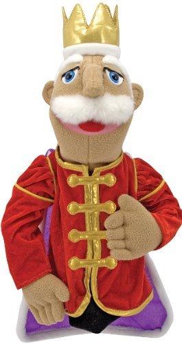 4 Pack MELISSA & DOUG KING PUPPET - Doug King Puppet