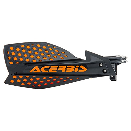 Acerbis Atv - Acerbis 7/8 or 1 1/8 X-Ultimate MX Motocross ATV Handguards Black/Orange
