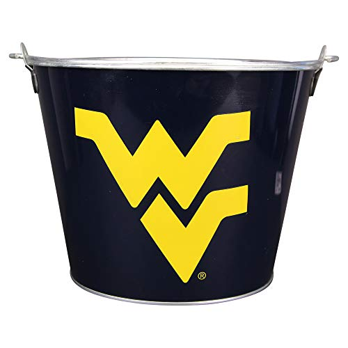 NCAA Full Color Team Logo Aluminum Beer and Ice Bucket (West Virginia Mountaineers)