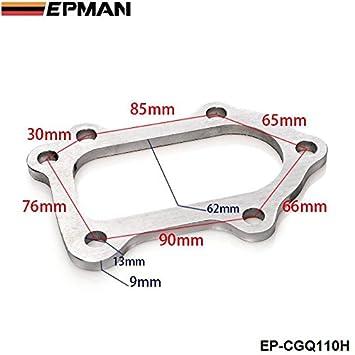 epman TUBRO Escape Trasero Brida Fit para Toyota MR2 Celica GT4 CT26 3s-gte 6 perno turbo para tubería bajante ep-cgq110h: Amazon.es: Coche y moto