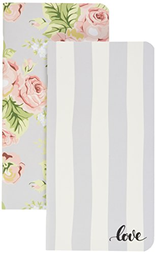 Webster's Pages Love and Floral Traveler Notepad Inserts 2-Pack (NP107)