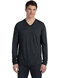 Canvas 3425 - Long Sleeve V-Neck T-Shirt