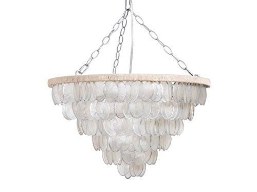 - Kouboo 1050098 Pendant Lamp, Translucent/Silver