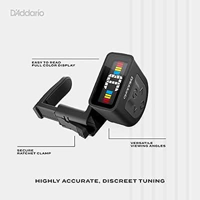 D'Addario NS Micro Clip-On Tuner 3