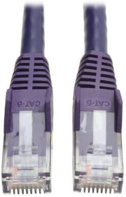 - Black 5-ft. RJ45 M//M N201-005-BK Tripp Lite Cat6 Gigabit Snagless Molded Patch Cable