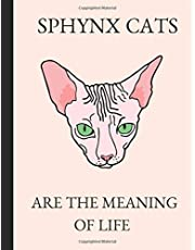 Sphynx Cats Are The Meaning Of Life: 2019-2023 Five Year Calendar Planner