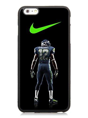 6SCase.com-16704-6S Plus 5.5 Phone Case,Seattle Seahawks Nfl Popular Gifts TPU Case Cover for iPhone 6 & 6S Plus (Black)-B01F70BHOA