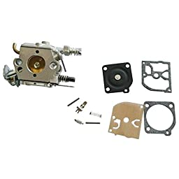 JRL Carburetor Carb Diaphragm Gasket Set For HUSQVARNA 136 137 141 142 Chainsaws