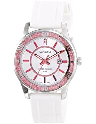 Casio Womens LTP1358-4A1V  Pink Bezel Watch