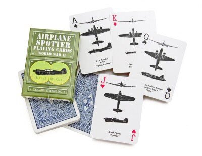 WWII AIRPLANE SPOTTER CARDS