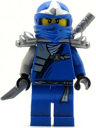 Amazon Com Lego Ninjago Jay Zx Minifigure With Armor And Katana Sword Toys Games