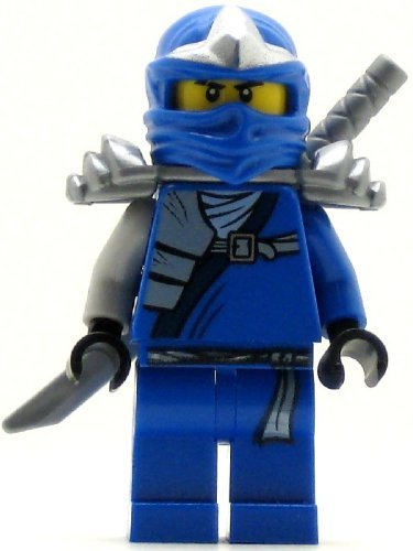 LEGO Ninjago Jay ZX Minifigure with Armor and Katana Sword -