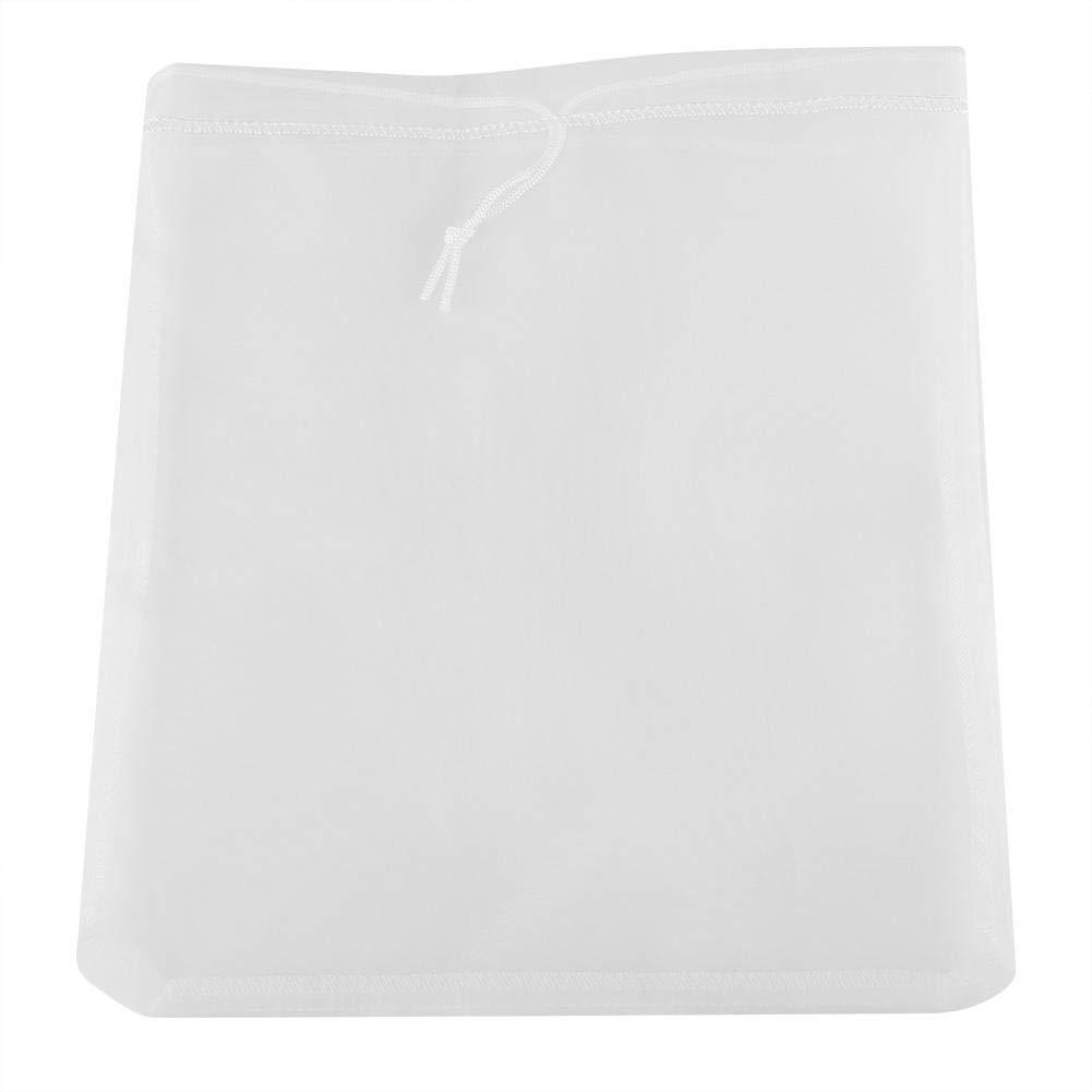 30cm crible r/éutilisable de cuisine de filtre /à lait damande de noix 30 Tamis en nylon de tissu de maille