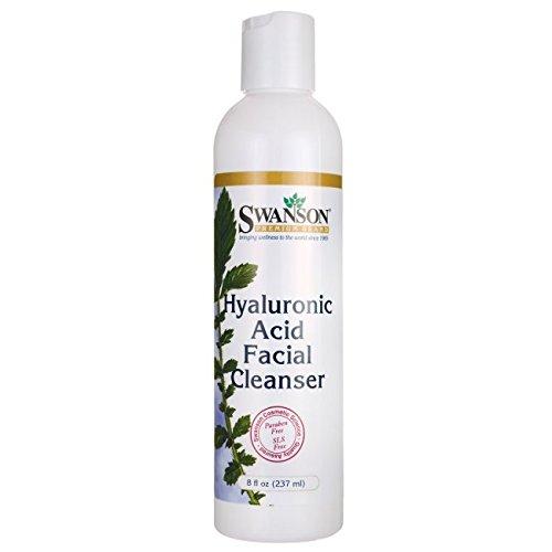 Swanson Hyaluronic Acid Facial Cleanser 8 fl Ounce (237 ml) Liquid