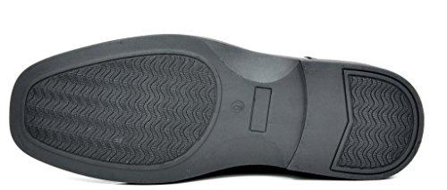 Bruno Marc Mens Leather Lined Square Toe Dress Oxfords Shoes 3-black Pat XsKxe1i