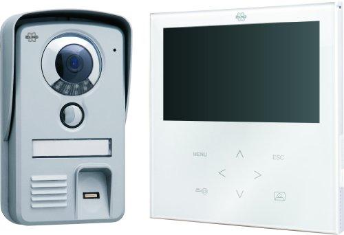 Elro VD71F Video-Türsprechanlage mit Fingerabdruckscanner