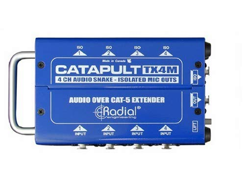 Radial Catapult TX4M 4-Channel Cat 5 Audio Snake