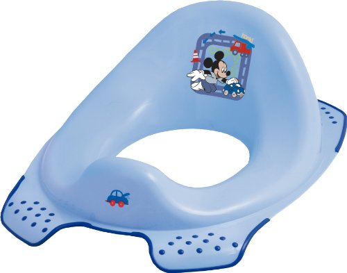 Disney Mickey Mouse Toilet Training Seat (Blue)