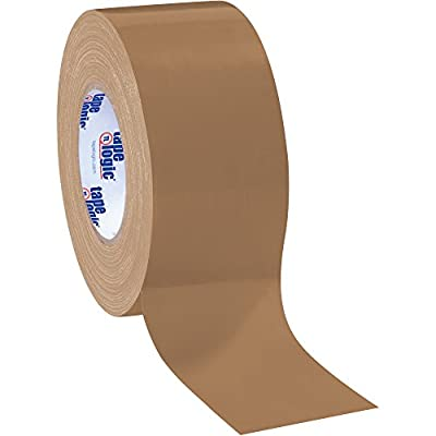 "Boxes Fast Tape Logic Duct Tape, 10 Mil, 3"" x 60 yds, Brown from Boxes Fast"