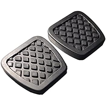 ihave 2X Brake Clutch Pedal Pad Covers for Honda Civic Del Sol CRX Integra 46545-SH3-000