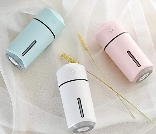 TaoRan Humidificateur pulvérisateur à hydratation embarqué Mini atmosphère colorée veilleuse humidificateur intérieur… 3