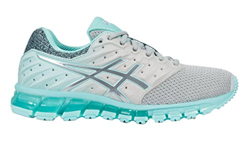 ASICS 180 MX Grey Running Gel Mid Shoes Blue Quantum Mid Aruba T887N 2 Women's Grey wrXwtqp