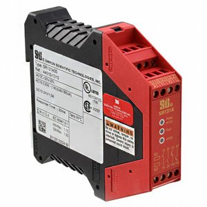Omron 445101310 Safety Relay, 24 VDC, 10 mA, 1 NC - 3 NO