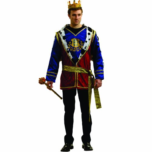 Dress Up America Noble King, Multi-Colored, Adult Standard (Noble Renaissance Man Costume)