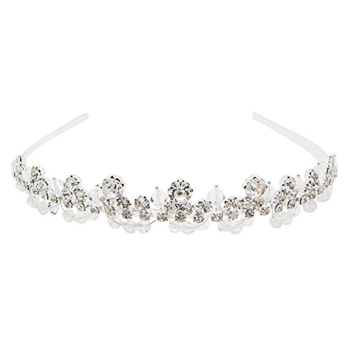 Best Of British Party Costume Ideas - Rosemarie Collections Women's Bridal Crystal Rhinestone Point Sparkle Headband