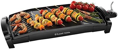 Russell Hobbs Plancha Grill 2en1 2200W, Anti Adhésif, Température Réglable, Grande Capacité - 22940-56 Maxicook