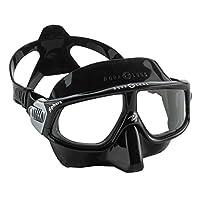 Máscara de natación Aqua Sphere Sphera (falda negra /marco negro)