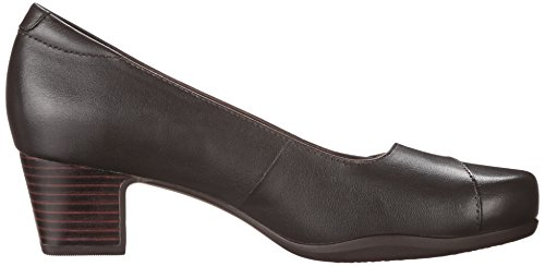 Clarks Mujeres Rosalyn Belle Dress Pump Brown