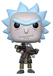Funko POP Animation Rick and Morty Weaponized Rick (styles may vary) Action Figure