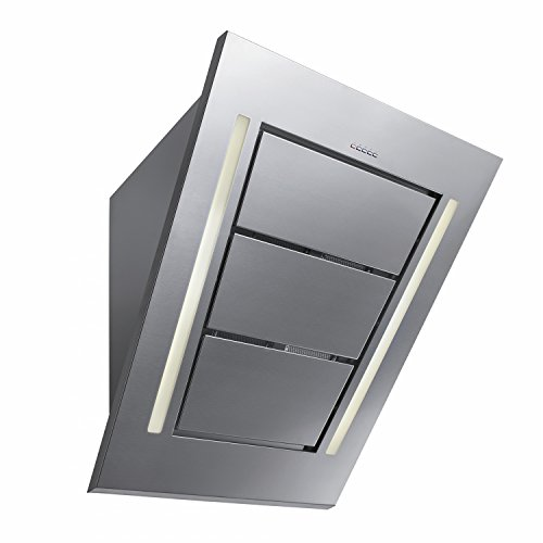Futuro Futuro Diamond 36 Inch Wall-mount Range Hood, Modern Angled Stainless Steel Design, Ultra-Quiet, with Blower Angled Hood